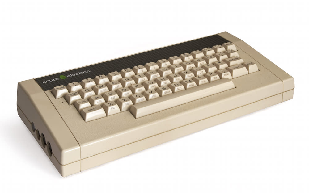 <p>A cheaper version of the BBC Micro designed for home use rather than schools, the Electron was released in 1983 and was known for basic games like Chuckie Egg, Elite and Repton. (Bilby/Wikipedia) </p>
