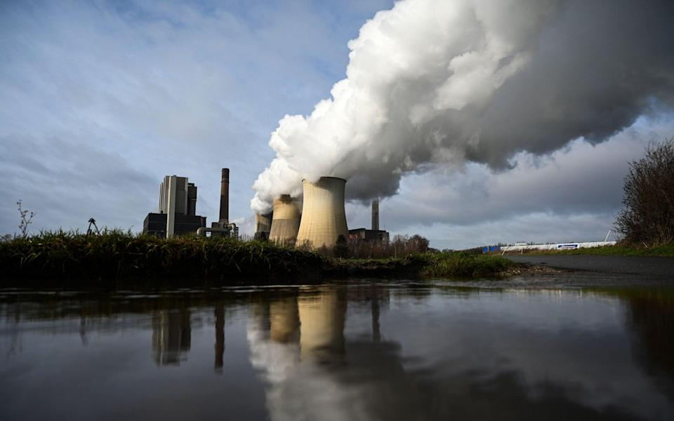 A coal-fired power plant in Germany