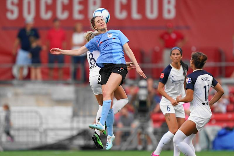 """""""I've had concussions where I get hit in the head and I feel fine,"""" says USWNT and Chicago Red Stars midfielder Morgan Brian, """"but then I go home and that night it's like, 'I am not fine.'"""""""