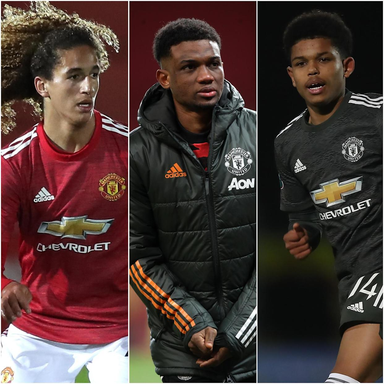Hannibal Mejbri, Amad Diallo and Shola Shoretire are impressing at Manchester United