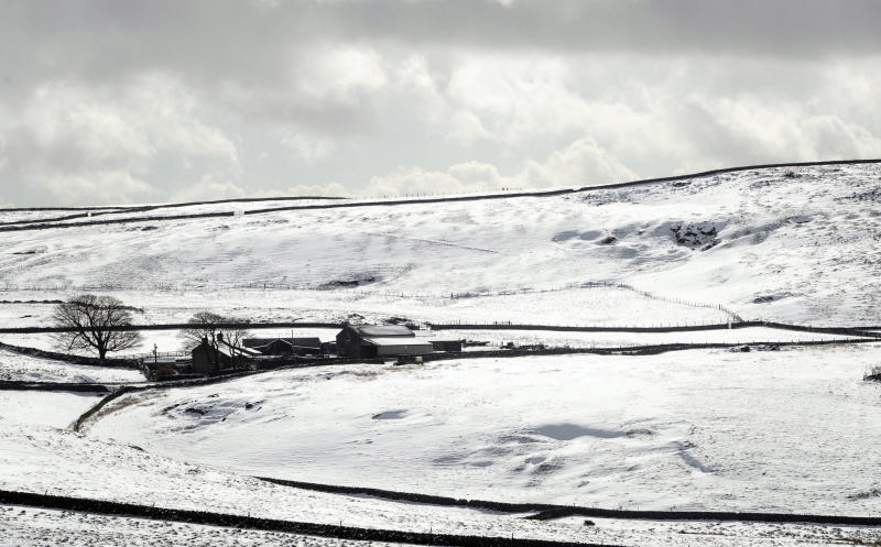 Forecasters have said any snow on election week is likely to be confined to the hills and mountains (PA)