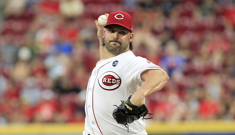 A's get SP Roark from Reds