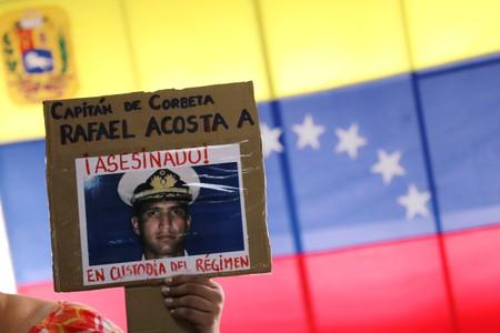 U.S. blacklists Venezuela military agency after death of navy captain