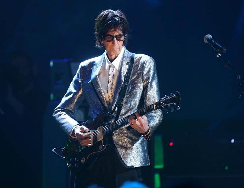 Rock & Roll Hall of Fame Induction – Show - Cleveland, Ohio, U.S., 14/04/2018 – Ric Ocasek of The Cars performs on stage. REUTERS/Aaron Josefczyk
