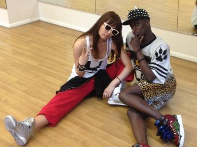 Jonte' Moaning to work with T-ARA