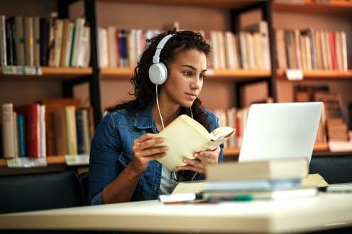 "<span class=""caption"">Learning is rewarding.</span> <span class=""attribution""><a class=""link rapid-noclick-resp"" href=""https://www.shutterstock.com/image-photo/young-female-student-study-school-library-701467699"" rel=""nofollow noopener"" target=""_blank"" data-ylk=""slk:BalanceFormCreative/Shutterstock"">BalanceFormCreative/Shutterstock</a></span>"