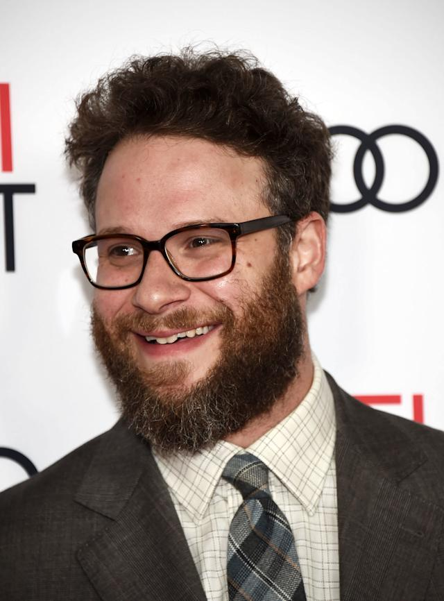 "They should call Rogen ""The Makeup Artist.""  (Amanda Edwards via Getty Images)"