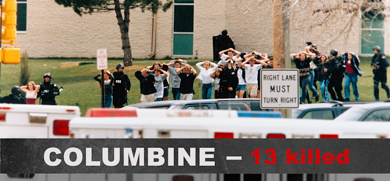 the columbine high killing spree