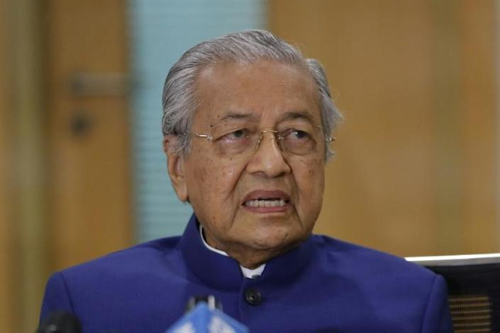 Mahathir launched an extraordinary outburst on Twitter after an attack in southern France saw three people killed