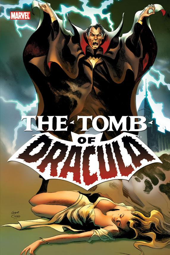 "In this comic book image released by Marvel Comics, a drawing from ""The Tomb of Dracula,"" drawn by artist Gene Colan, is shown. Colan, whose career spanned seven decades and illustrated the adventures of characters like Dracula, Batman, Daredevil and the wise-cracking fowl Howard the Duck, died Thursday, June 23, 2011 from complications of liver disease and cancer in the Bronx borough of New York.  He was 84. (AP Photo/Marvel Comics)"
