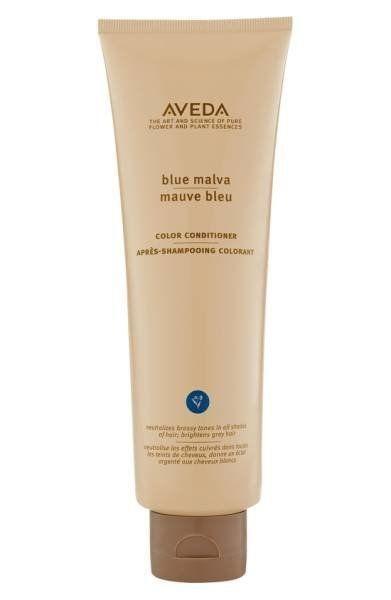 "This is, hands down, one of my favorite coloring conditioners on the market. It smells amazing (because, well, <a href=""http://shop.nordstrom.com/s/aveda-blue-malva-color-conditioner/3411862?origin=coordinating-3411862-0-3-PDP_1_AA1-recbot-also_viewed2&recs_placement=PDP_1_AA1&recs_strategy=also_viewed2&recs_source=recbot&recs_page_type=product"" target=""_blank"">Aveda</a> products always smell amazing), and it leaves your hair with a touch of silvery brightness that banishes brassiness after just one wash. Use it like a normal conditioner, or leave it in for a few extra minutes as you would a deep conditioner for an extra boost of blue brightness. <a href=""http://shop.nordstrom.com/s/aveda-blue-malva-color-conditioner/3411862?origin=coordinating-3411862-0-3-PDP_1_AA1-recbot-also_viewed2&recs_placement=PDP_1_AA1&recs_strategy=also_viewed2&recs_source=recbot&recs_page_type=product"" target=""_blank"">Shop it here</a>."