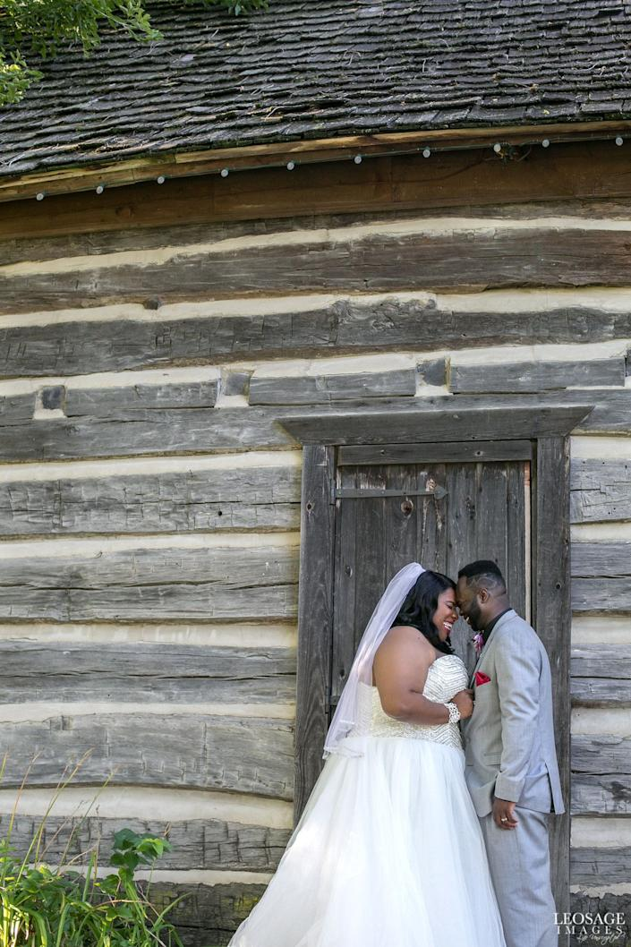 &quot;Congratulations to Aaron&amp;nbsp;and Martinez, married in Detroit, Michigan. These smiles pretty much sum up their beautiful wedding day.&quot; --&amp;nbsp;<i>Shaleena Cole</i>
