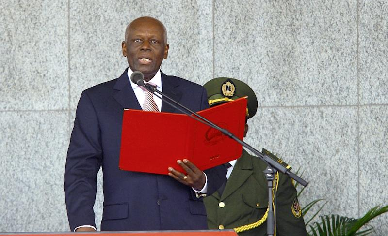 Angola's President Jose Eduardo dos Santos, 74, has been the oil-rich country's president since September 1979, making him Africa's second-longest serving leader (AFP Photo/Bruno FONSECA)