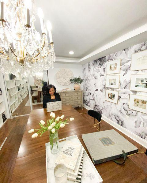 "<p>Rasheeda Gray is an interior designer based in Pennsylvania who has been featured in <em>HGTV</em> magazine and <em>Business of Home.</em></p><p><a href=""https://www.instagram.com/p/B_-cEfjh3w-/"" rel=""nofollow noopener"" target=""_blank"" data-ylk=""slk:See the original post on Instagram"" class=""link rapid-noclick-resp"">See the original post on Instagram</a></p>"