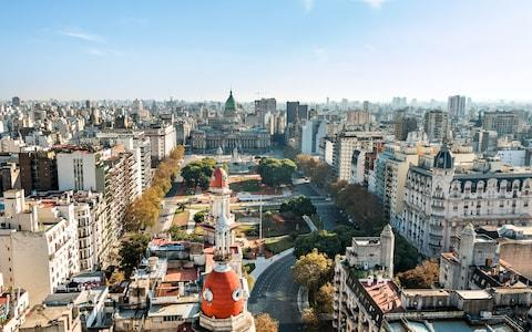 The Congressional Plaza in Buenos Aires - Credit: Getty Images