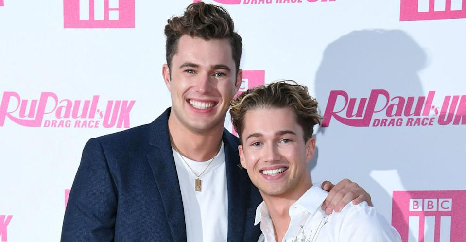 AJ and Curtis Pritchard attended their grandmother's funeral. (Photo: Karwai Tang/WireImage)