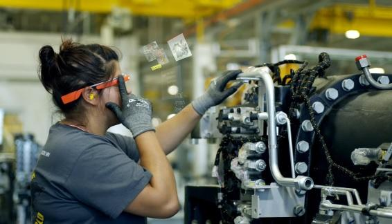 Google Glass used in factory