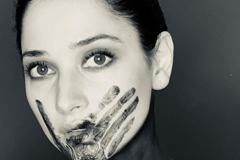 Tamannaah Bhatia Posts 'All Lives Matter' with Black Imprint of Hand on Her Face, Gets Trolled