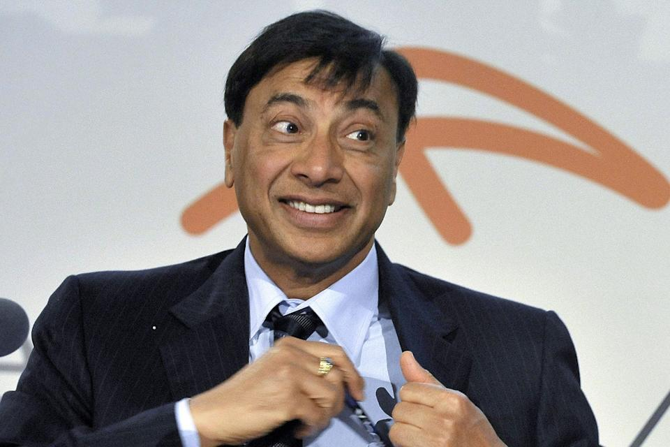 Lakshmi Mittal: has lost three-quarters of his wealth: EPA