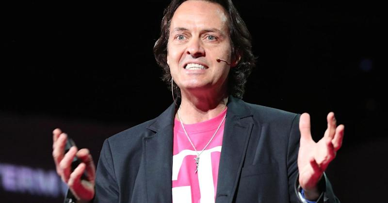 T-Mobile CEO John Legere says he's 'humored' by takeover rumors