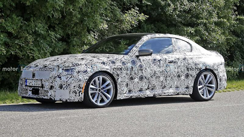 2022 BMW 2 Series Coupe caught out in the open