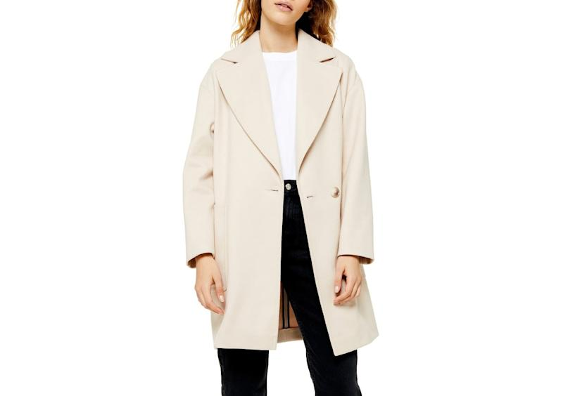 Topshop Carly Coat. (Photo: Nordstrom)