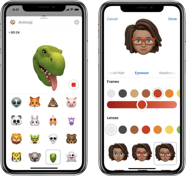 Animoji can now include a T-rex—or even a cartoon YOU.