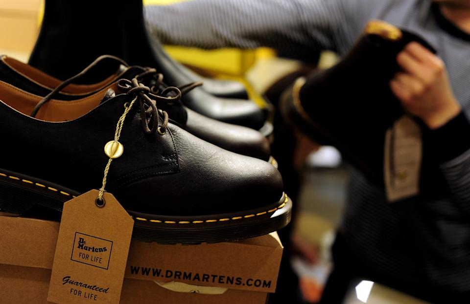 The company famed for its black boots with the yellow stitching said that the offer was over eight times oversubscribed. Photo: Gareth Cattermole/Getty Images