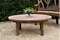 "<p>Inspired by the Sweet Chestnut tree, the Woodland Low Oval Table takes its template from nature, making each piece as unique as the tree that it came from.</p><p><a href=""https://www.gazeburvill.com/"" rel=""nofollow noopener"" target=""_blank"" data-ylk=""slk:www.gazeburvill.com"" class=""link rapid-noclick-resp""><strong>www.gazeburvill.com</strong></a></p>"
