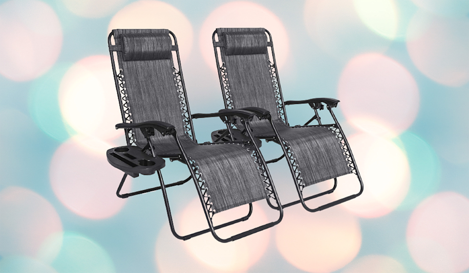 Durable, portable and lightweight, these zero-gravity recliners are a warm weather game-changer! (Photo: Amazon)