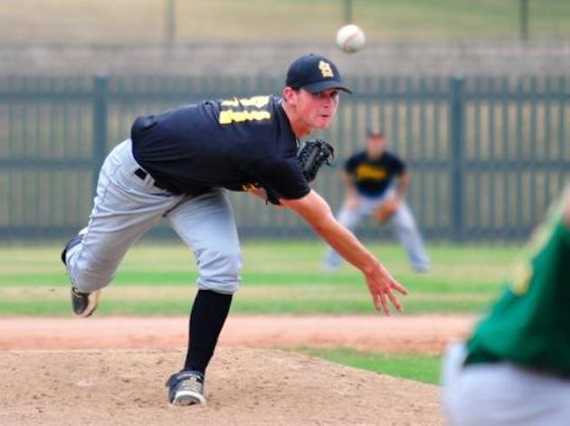 St. Laurence (Burbank, Ill.) ace Mike Kornacker anchored a pitching staff that owned a 0.00 ERA through 49 innings -- Chicago Sun-Times
