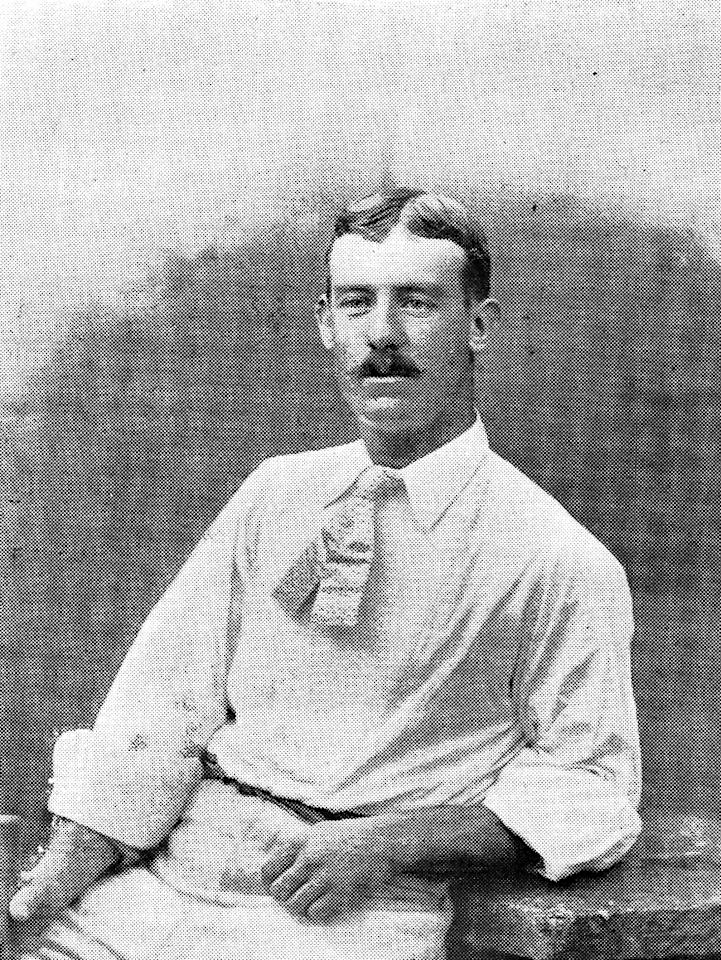 England cricketer Billy Bates. (Wikimedia Commons)