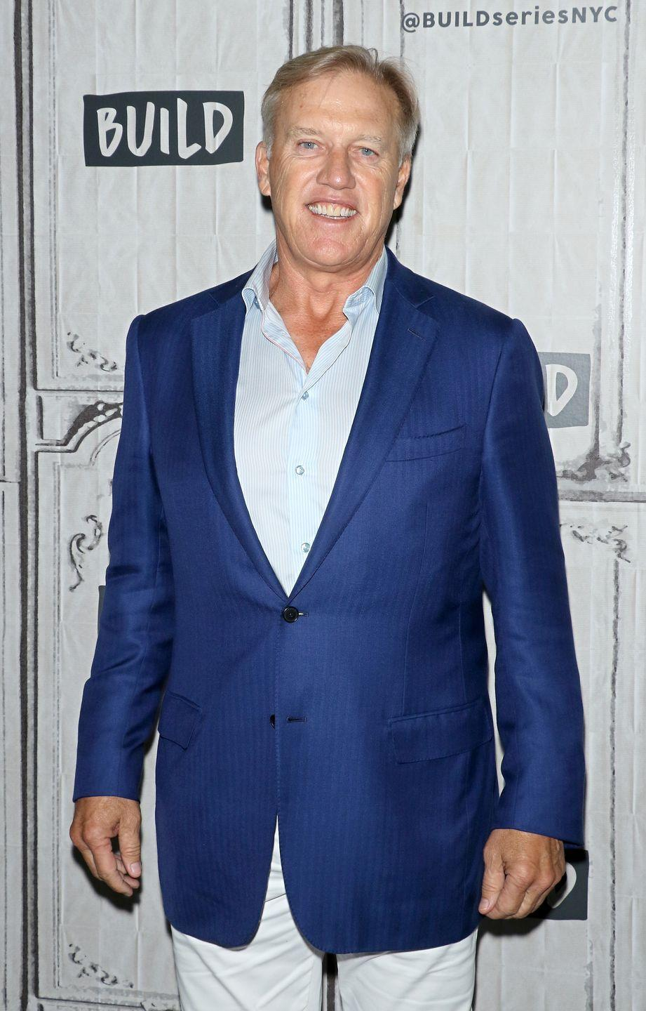 """<p>John Elway's impressive college football career at Stanford University led the quarterback to be the <a href=""""https://www.sports-reference.com/cfb/players/john-elway-1.html"""" rel=""""nofollow noopener"""" target=""""_blank"""" data-ylk=""""slk:number one draft pick"""" class=""""link rapid-noclick-resp"""">number one draft pick</a> in 1983. During his time on campus, Elway also made sure to have some fun, <a href=""""https://www.owu.edu/student-life/fraternity-sorority-life/leadership-and-councils/interfraternity-council-ifc/delta-tau-delta/"""" rel=""""nofollow noopener"""" target=""""_blank"""" data-ylk=""""slk:pledging Delta Tau Delta"""" class=""""link rapid-noclick-resp"""">pledging Delta Tau Delta</a>. </p>"""