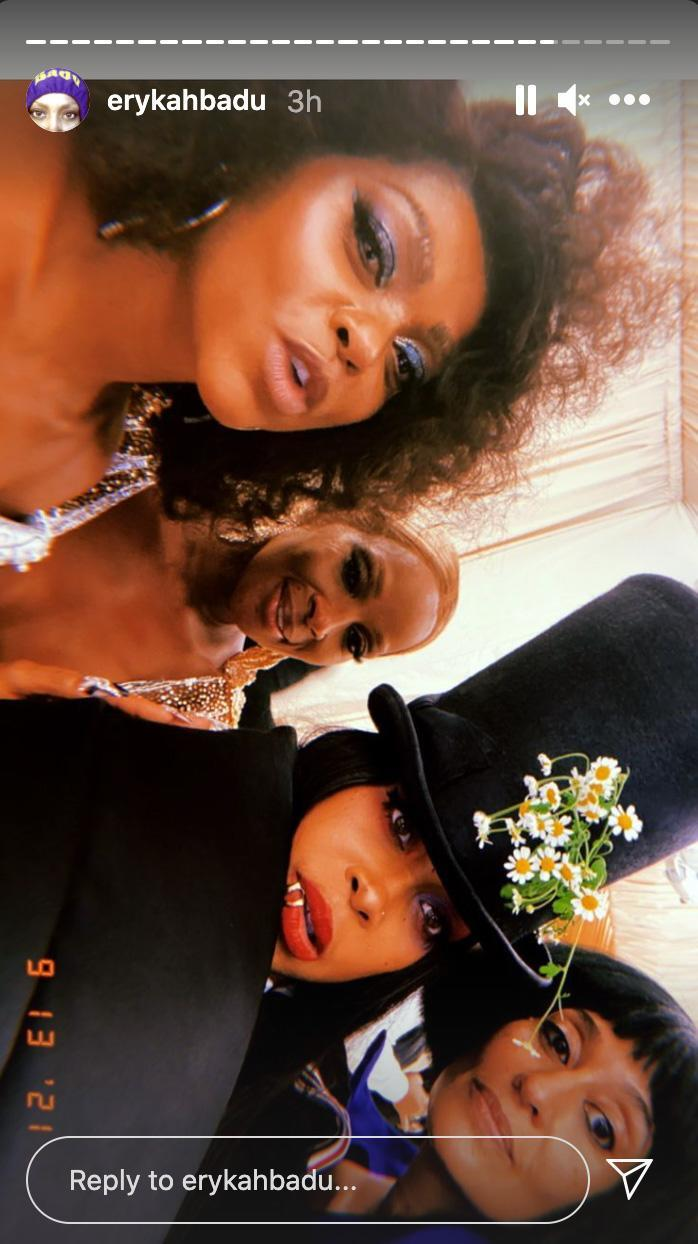 <p>Talk about an all-star selfie: Taraji P. Henson, Mary J. Blige, Erykah Badu and Tracee Ellis Ross hung during the gala. </p>