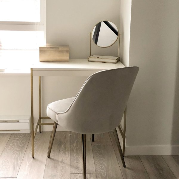 "<h3>West Elm Zane Mini Desk<br></h3> <br>Can't fit a regular-sized desk? Go for a mini desk instead — this chic little number will tuck up inside any of your cramped space's nooks and crannies. And if you're looking for something a little more rustic, check out West Elm's <a href=""https://www.westelm.com/products/industrial-storage-mini-desk-h1443/"" rel=""nofollow noopener"" target=""_blank"" data-ylk=""slk:Industrial Mini Desk"" class=""link rapid-noclick-resp"">Industrial Mini Desk</a>. <br><br><strong>West Elm</strong> Zane Mini Desk, $, available at <a href=""https://go.skimresources.com/?id=30283X879131&url=https%3A%2F%2Fwww.westelm.com%2Fproducts%2Fzane-mini-desk-white-h3429%2F"" rel=""nofollow noopener"" target=""_blank"" data-ylk=""slk:West Elm"" class=""link rapid-noclick-resp"">West Elm</a>"
