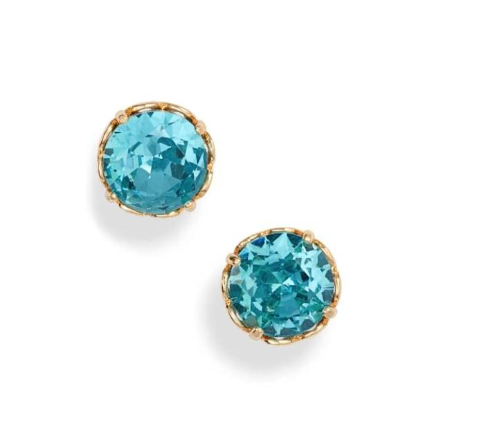 <p>These <span>Kate Spade New York That Sparkle Stud Earrings</span> ($38) come in several pretty shades.</p>