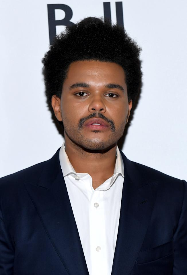 "Our guy Abel swapped out his beard for a <a href=""https://www.gq.com/story/the-weeknd-mustache?mbid=synd_yahoo_rss"">phenomenal stache</a> in honor of the premiere of <em>Uncut Gems</em>. When in a diamond heist movie..."