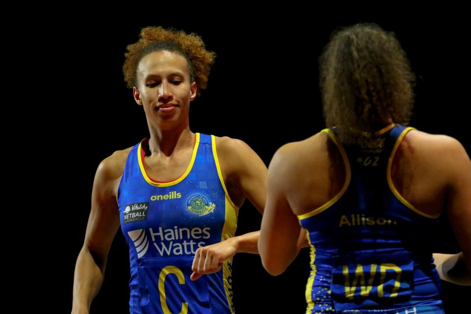 Team Bath star Serena Guthrie hopes to get more Brits on the netball bandwagon in Birmingham (Picture: England Netball)