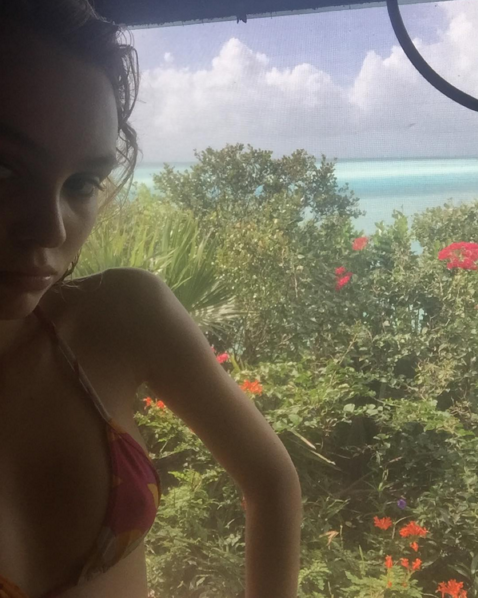 "<p>To celebrate Christmas and the New Year, Lily-Rose Depp, who splits her time between Los Angeles and London, escaped to warmer climates. During her vacation, she posted a selfie to Instagram of her wearing a red floral bikini top against a flora and fauna-filled backdrop. <i>Photo: <a href=""https://www.instagram.com/lilyrose_depp/"" rel=""nofollow noopener"" target=""_blank"" data-ylk=""slk:@lilyrose_depp/Instagram"" class=""link rapid-noclick-resp"">@lilyrose_depp/Instagram</a></i></p>"