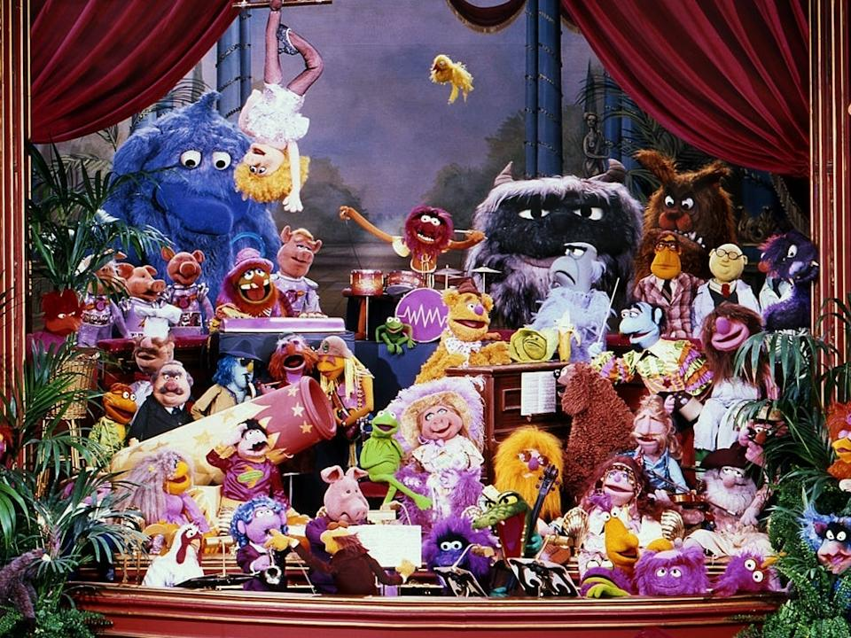 The Muppet Show ran for five seasons throughout the 1970s and 1980s (Disney)