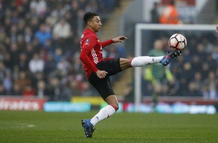 Britain Football Soccer - Blackburn Rovers v Manchester United - FA Cup Fifth Round - Ewood Park - 19/2/17 Manchester United's Jesse Lingard in action Reuters / Phil Noble Livepic