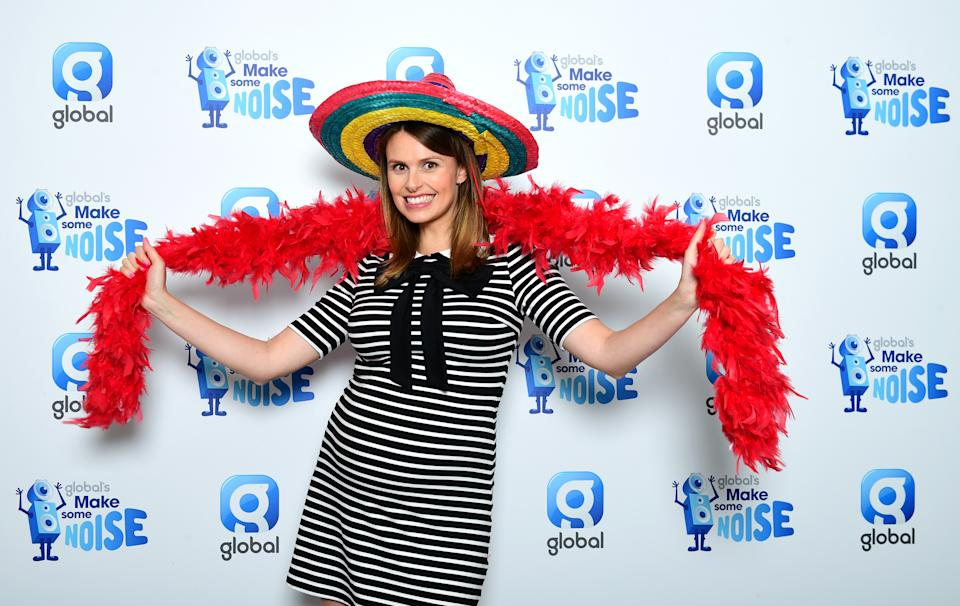 Ellie Taylor at Global's Make Some Noise Appeal Day, set up by Global, to raise money to help disadvantaged children, young people and their families across the UK (Photo by Ian West/PA Images via Getty Images)