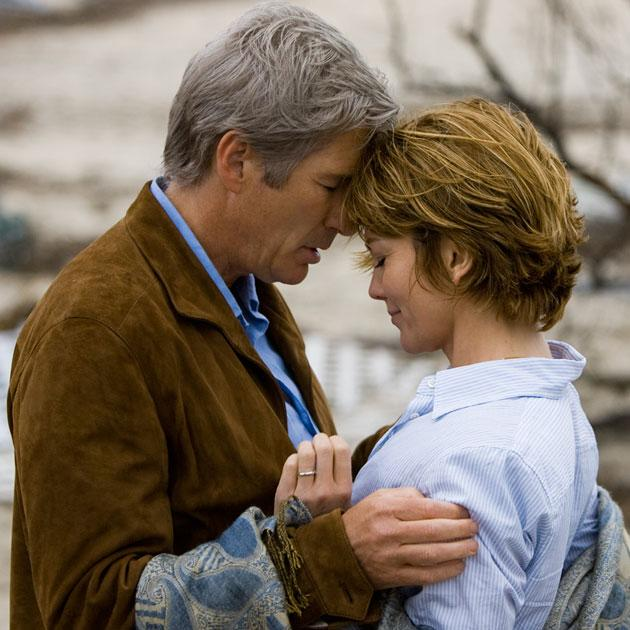 Diane Lane and Richard Gere in 2008's 'Nights in Rodanthe' (Photo: Warner Bros Pictures)