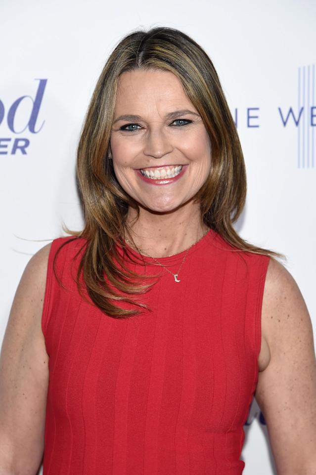 Savannah Guthrie has raised an important point about pregnancy speculation and body shaming. (Photo: Jamie McCarthy/Getty Images for the Hollywood Reporter)