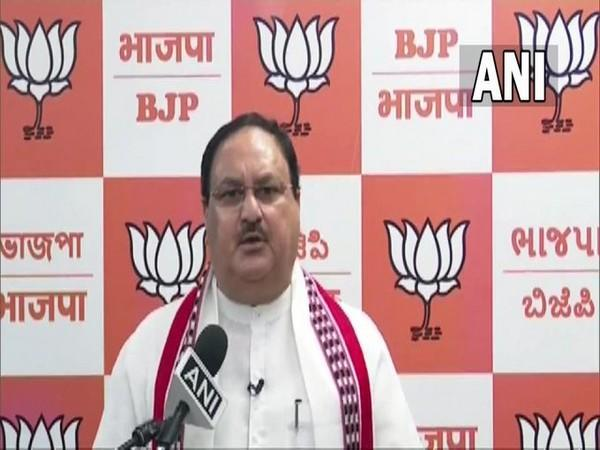 BJP president JP Nadda speaking to ANI on Tuesday.