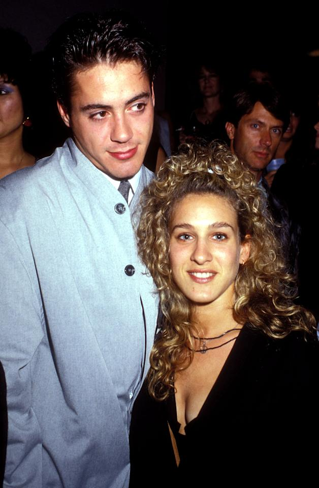 <p>Robert and SJP looked like an '80s It couple when they attended the premiere of <strong>Slam Dance</strong> in LA.</p>