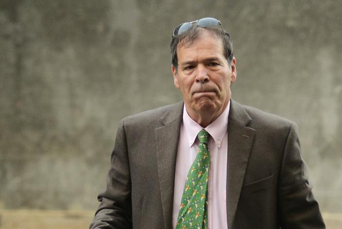 Randy Credico arriving at the U.S. District Court in Washington in 2018. (Photo: Astrid Riecken for the Washington Post via Getty Images)