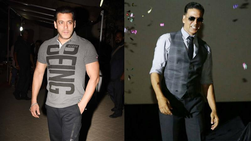 Did Salman Khan Just Reveal He Is Doing a Film with Akshay Kumar?