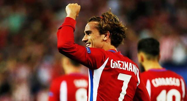 Griezmann buried the winning penalty for Atleti. (Reuters)