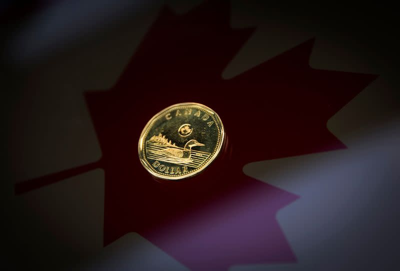 Canadian dollar stronger after Friday's sell-off